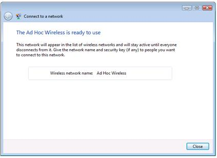 Connect to a Network in Windows Vista