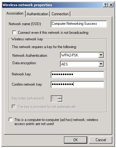 Computer Networking Success Wireless
