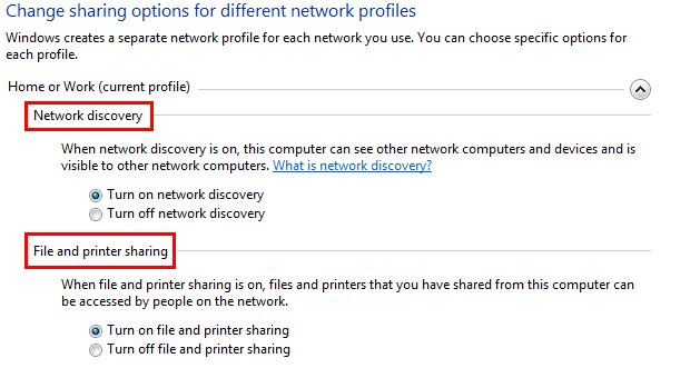 Windows 7 Network Discovery