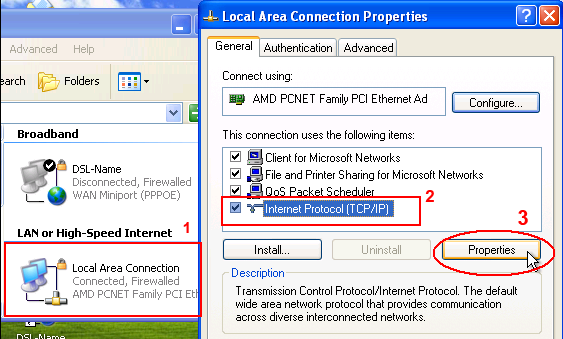 IP Settings