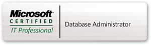 MCITP Database Administrator logo