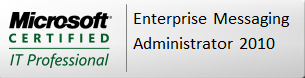 MCITP Enterprise Messaging Administrator  on Exchange 2010