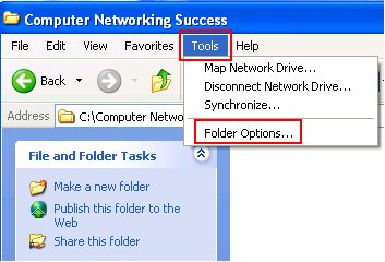 Share a folder in Windows XP