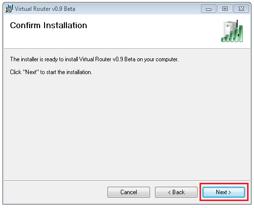 Confirm Installation of Virtual Router