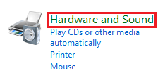 Windows Vista Hardware and Sound