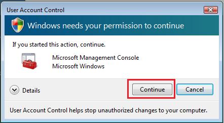 Windows Vista UAC