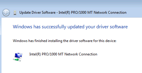 Windows 7 Driver Install