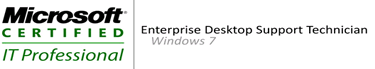 MCITP Enterprise Desktop Support Technician on Windows 7