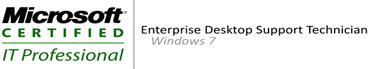 MCITP Enterprise Desktop Support Technician on Windows 7