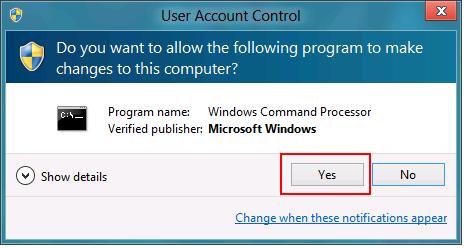 Windows 8 UAC