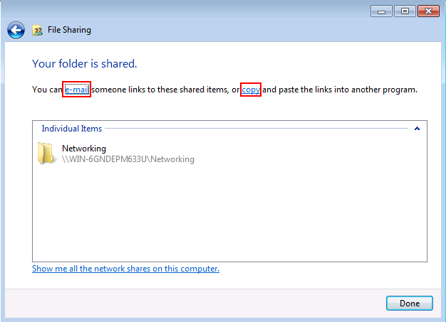 Windows 7 File Sharing Tutorial
