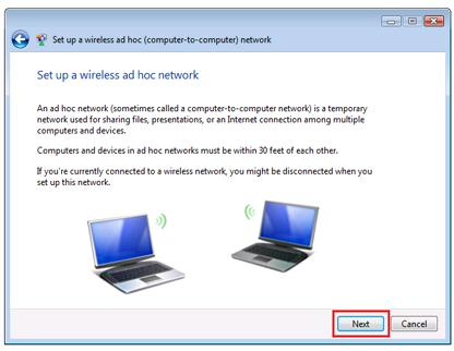 Ad Hoc Wireless Network
