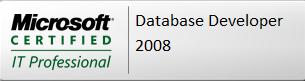 MCITP Database Developer 2008 Certification Logo