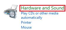 Windows Vista Hardware and Sound